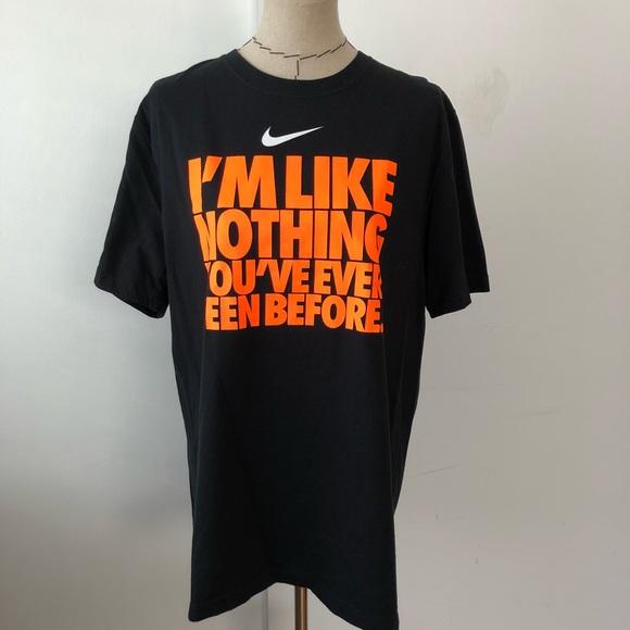 8636b819e Black and orange men's Nike graphic t shirt. M_5a96f4d03a112e2e9cc67e6f